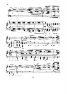 Konzert für Orgel und Orchester Nr.2 in a-Moll, BWV 593: Teil III. Bearbeitung für Klavier by Johann Sebastian Bach