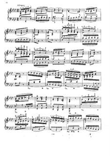 Konzert für Cembalo und Streicher Nr.5 in f-Moll, BWV 1056: Teil III. Bearbeitung für Klavier by Johann Sebastian Bach