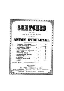 Skizzen für Klavier: Skizzen für Klavier by Anton Strelezki