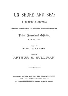 On Shore and Sea: On Shore and Sea by Arthur Sullivan