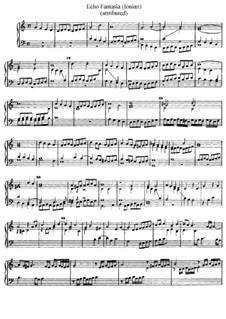 Echo Fantasia (Ionian), D.2: Echo Fantasia (Ionian) by Jan Pieterszoon Sweelinck