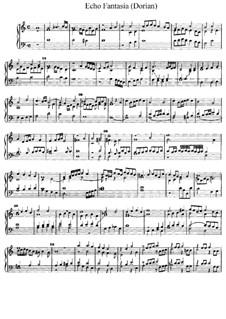 Echo Fantasia (Dorian), D.5: Echo Fantasia (Dorian) by Jan Pieterszoon Sweelinck