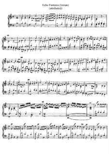 Echo Fantasia (Ionian), D.54: Echo Fantasia (Ionian) by Jan Pieterszoon Sweelinck