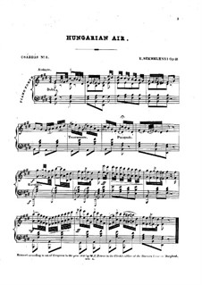 Csardas Nr.3, Op.21: Csardas Nr.3 by Ernest Szemelényi