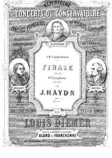 Sinfonie Nr.88 in G-Dur, Hob.I/88: Teil IV. Version für Klavier by Joseph Haydn
