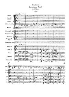 Vollständiger Teile: Partitur by Pjotr Tschaikowski