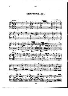 Sinfonie Nr.88 in G-Dur, Hob.I/88: Version für Klavier by Joseph Haydn