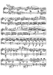 Sonate für Klavier Nr.5, Op.10 No.1: Teil III by Ludwig van Beethoven