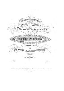 Sinfonie Nr.3 'Eroica', Op.55: Version für Klavier by Ludwig van Beethoven