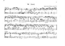 Suite für Orgel in D-Dur: Suite für Orgel in D-Dur by Johann Heinrich Buttstett