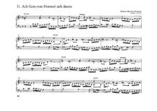 Zwei Choralvorspiele für Orgel: Zwei Choralvorspiele für Orgel by Johann Heinrich Buttstett