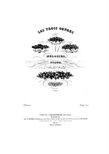 Melodies varies sur la cavatine de Norma de Bellini: Melodies varies sur la cavatine de Norma de Bellini by Henri Herz
