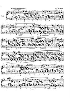 Lieder ohne Worte, Op.38: Nr.2 Allegro non troppo by Felix Mendelssohn-Bartholdy