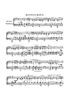 Nocturne: Für Klavier by Felix Mendelssohn-Bartholdy
