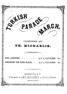 Die türkische Schaarwache: In F-Dur by Theodore Michaelis