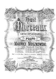 Acht Charakterstücke, Op.36: No.1 Pièce rococo by Moritz Moszkowski