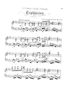 Acht Charakterstücke, Op.36: No.3 Expansion by Moritz Moszkowski