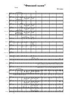 Finnische Bucht: Für Stimmen und Orchester by Michail Glinka