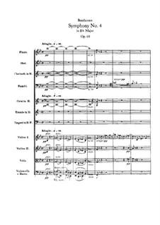 Sinfonien Nr.4-6, Op.60, 67, 68: Sinfonien Nr.4-6 by Ludwig van Beethoven