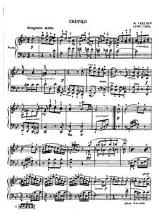 Scherzo in g-Moll: Scherzo in g-Moll by Johann Wilhelm Hässler