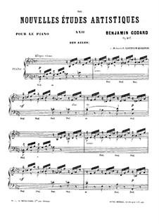 Nouvelles études artistiques, Op.107: No.10 Des ailes by Benjamin Godard