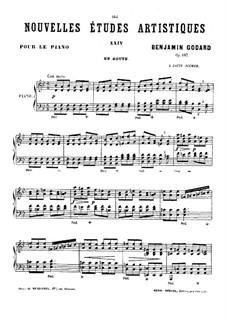 Nouvelles études artistiques, Op.107: No.12 En Route by Benjamin Godard