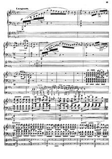 Konzert für Klavier und Orchester, Op.18: Teil III, für zwei Klaviere, vierhändig by Hermann Götz