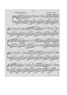 Arabesken, Op.53: Nr.1 by Salomon Jadassohn