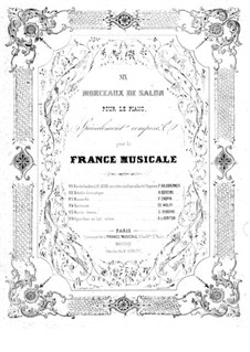 Six morceaux de salon: No.1 Marche Funebre by Adolphe Adam