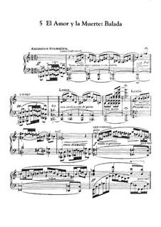 Goyescas (Los majos enamorados). Suite: No.5 El amor y la muerte by Enrique Granados