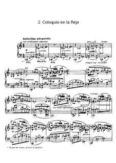 Goyescas (Los majos enamorados). Suite: No.2 Coloquio en la Reja by Enrique Granados