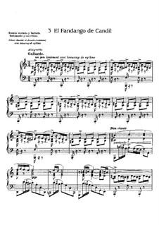 Goyescas (Los majos enamorados). Suite: No.3 El Fandango de Candil by Enrique Granados