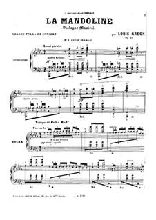 La mandoline, Op.20: La mandoline by Louis Gregh