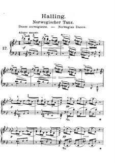 Lyrische Stücke, Op.38: Nr.4 Norwegischer Tenz by Edvard Grieg