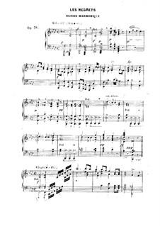 Les regrets, Op.36: Les regrets by Friedrich Kalkbrenner