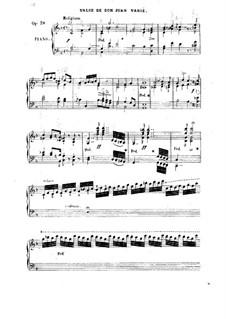 Valse de Don Juan varié, Op.38: Valse de Don Juan varié by Friedrich Kalkbrenner