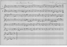 Der preussische Marsch für zwei Violinen: Der preussische Marsch für zwei Violinen by Karl Heinrich Graun