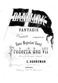Fantasia on a Danish Folk Song: Fantasia on a Danish Folk Song by Emil Horneman