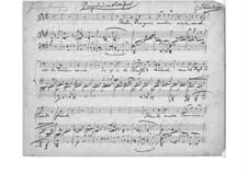 Lieder und Gesänge, Op.59: Nr.3 Regenlied by Johannes Brahms