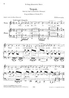 Lieder und Tänze des Todes: Nr.3 Trepak by Modest Mussorgski