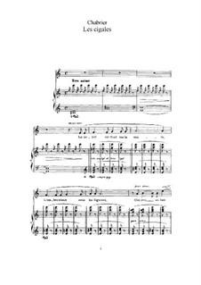 Sieben Lieder: Sieben Lieder by Emmanuel Chabrier
