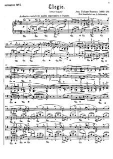 Elegie: Elegie by Jean-Philippe Rameau