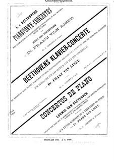Konzert für Klavier und Orchester Nr.3, Op.37: Version für Klavier und Strechquintett – Streicherstimmen by Ludwig van Beethoven