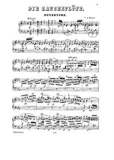 Ouvertüre: Für Klavier by Wolfgang Amadeus Mozart