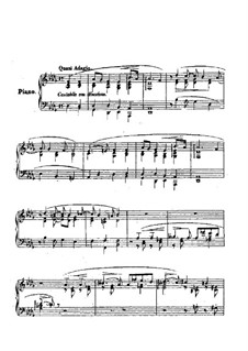 Consolations, S.172: Nr.4 in Des-Dur by Franz Liszt