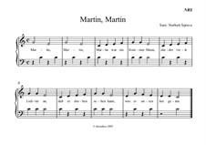 Martin, Martin: Martin, Martin by folklore