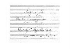 Sonate für Bratsche und Violine, BI 65: Sonate für Bratsche und Violine by Alessandro Rolla