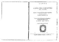 Motetten, Op.11: Motetten by Giovanni Rovetta