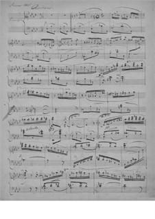 Agitato, EG 106: Für Klavier by Edvard Grieg