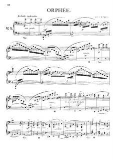 Symphonische Dichtung Nr.4 'Orpheus' für Orcherster, S.98: Version für Klavier by Franz Liszt